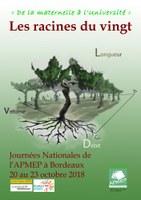 Journées Nationales de l'Association des Enseignants de Mathématiques ( APMEP)