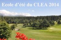 Ecole d'été du CLEA 2014 : cours en ligne