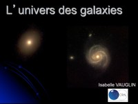 L'Univers des galaxies