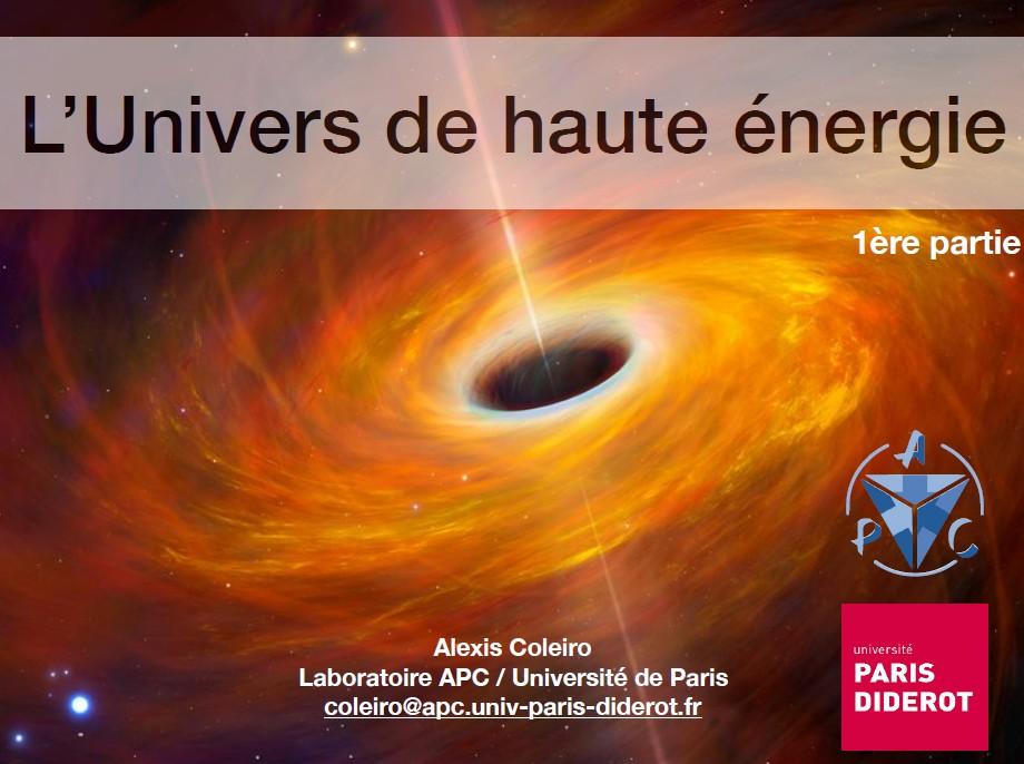 Univers chaud et énergétique : processus et sources