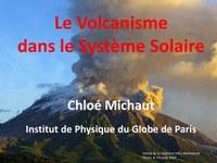 Volcanisme dans le système solaire
